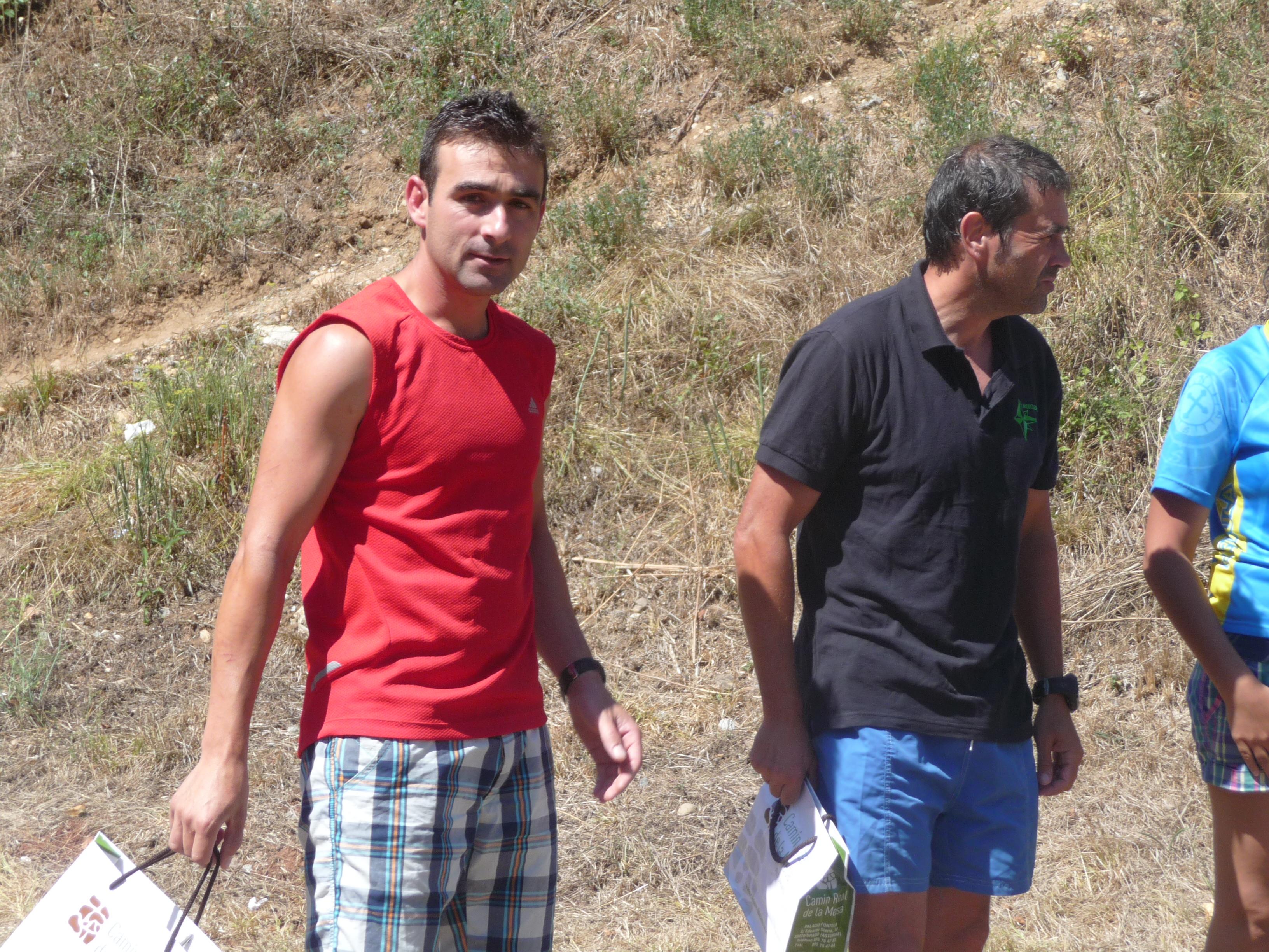 David y Tote, terceros en Quiros