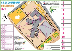 mapa del colegio Corredoria 1